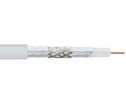 Coaxial cable, 75 Ohm, 3-way shielded, >110dB