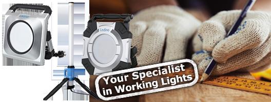 LED-Arbeitsstrahler 230 V