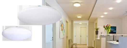 LED-Wand-/Deckenleuchten