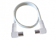 Antenna cable, angled plug/jack, discontinued line, new:  ASK75WK